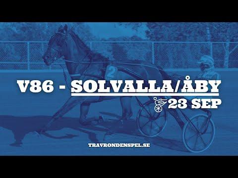 V86-tips Solvalla/Åby - 23 september 2020