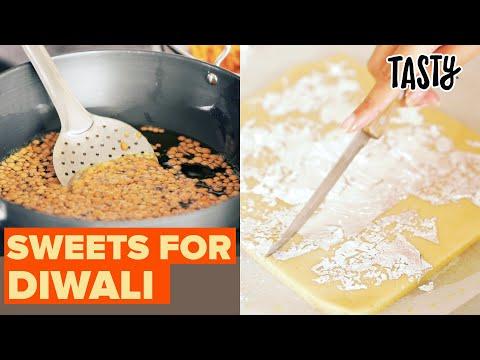 I Tried Making 3 Popular Diwali Sweets ? Tasty