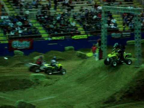 arenacross quad racing #22 Kelly Hamer
