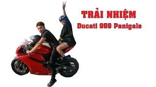 Mật Pet - Trải Nhiệm Siêu Xe Ducati 959 Panigale Của NTN Vlogs