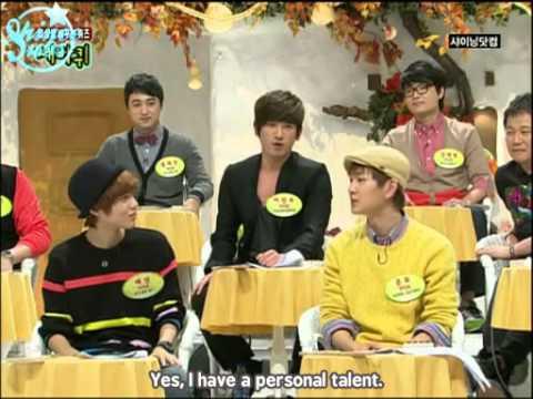 091010 Onew & Taemin @  MBC Change the World Quiz (1/2)