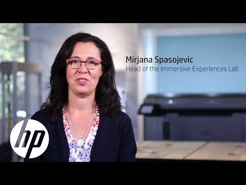 Mirjana Spasojevic -- Head of the Immersive Experiences