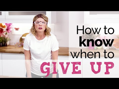 How to know when to give up painting (or anything else!) with Anna Mason