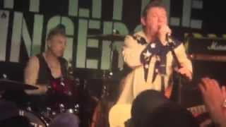 Stiff Little Fingers Live at The Queen's Hall, Nuneaton August 7th 2014