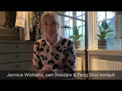 Hemma hos Jannice Elfa Hallförvaring