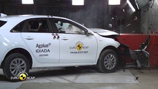 Euro NCAP Crash Test of Kia Ceed 2019