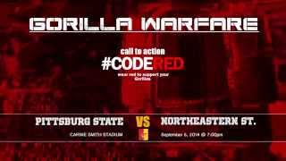 Pitt State Football #CODERED