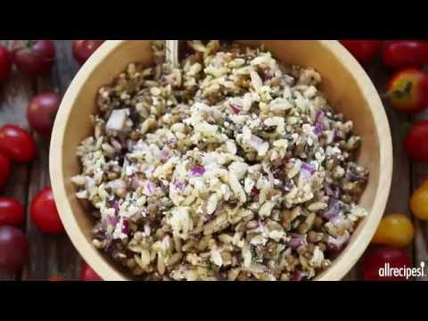 Pasta Recipes - How to Make Minty Orzo Salad