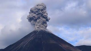 Reventador volcano Eruption Volcanic Ash Warning