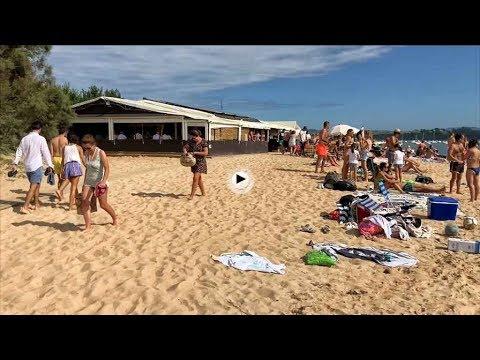 El último domingo de septiembre en la playa del Puntal