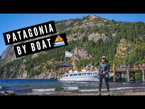 PATAGONIA BY BOAT 🛥️   Cruising on Glacial Lake Lacar in San Martín de los Andes, Argentina 🇦🇷