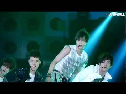120712 여수 Expo Pop Festival - EXO-K (엑소케이) 카이 History [DC SY GALL]