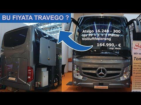 Yeni Travego Değil Atego (Mini Travego) - İlginç Otobüs Mercedes Benz Atego İAA 2018