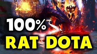 Dendi Goes 100% Rat DOTA - NAVI vs M19 - MDL DOTA 2