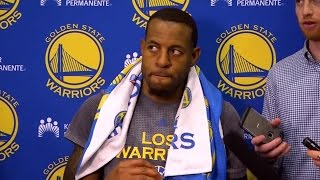 Raw Video: Andre Iguodala Clarifies Racial Comments