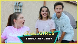 CHICKEN GIRLS | Behind The Scenes | Annie LeBlanc & Hayden Summerall