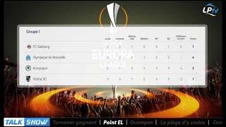 Talk Show du 20/10, partie 2 : le point Europa League
