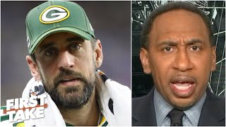 Aaron Rodgers should feel 'disgusted!' - Stephen A. rips the Packers for drafting a QB | First Take