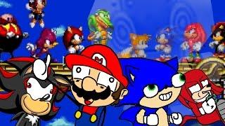 PELEA DE ANTROPOMÓRFICOS   Sonic Oddshow #2