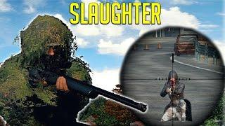 [Battlegrounds] The Sniper SLAUGHTER!