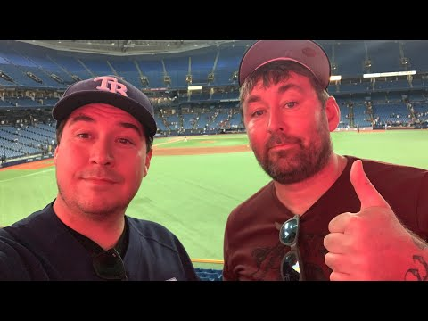 Tampa Bay Rays VS Boston Red Sox - Wander Franco First Game - My Tropicana Field Baseball Experience