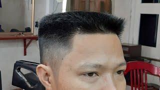 Chia Sẻ Cách Cắt Tóc Nam Đầu Bằng Nhanh Nhất