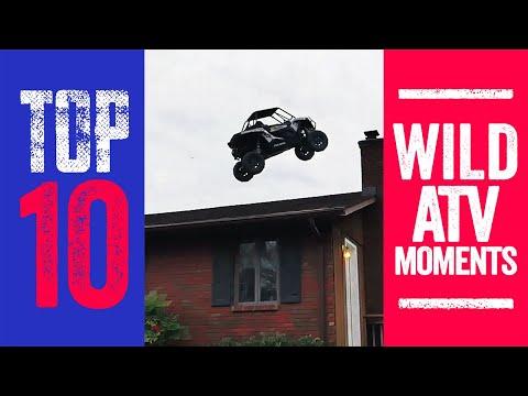 10 Wild Nitro Circus ATV Moments