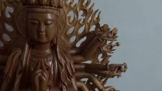 Hướng dẫn lắp tay, tượng Phật Chuẩn Đề, 18-2-2017, Đồ Gỗ Đức Hiền