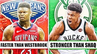 7 GREATEST FREAKS OF NATURE IN THE NBA