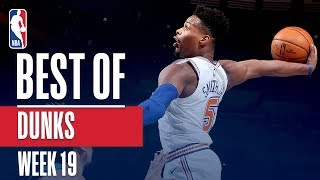 NBA's Best Dunks | Week 19