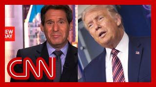 'Um, wow': Trump's briefing remarks stun John Berman