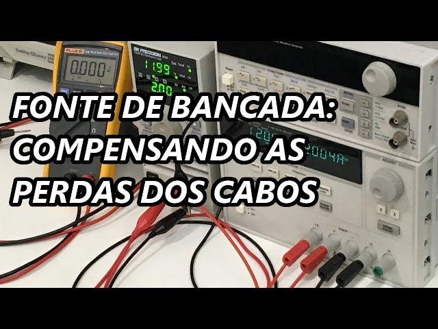 FONTE DE BANCADA NO MODO 4 FIOS