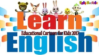 Educational Cartoons for Kids 2018: Learn English with Cute Baby animals: Nonstop