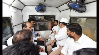 CM YS Jagan inspect Veligonda Tunnel Works..