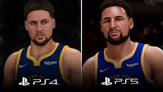 NBA 2K21 GRAPHICS COMPARISON - CURRENT GEN vs NEXT GEN TRAILER (PS4 vs PS5)
