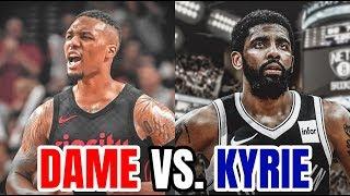 Damian Lillard vs. Kyrie Irving. Who's Better? | NBA PGs Tier List