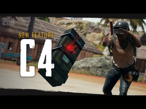 【PUBG】新規投擲武器 C4