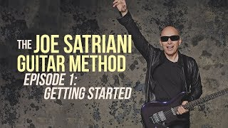 The Joe Satriani Guitar Method - Episode 1 - Getting Started