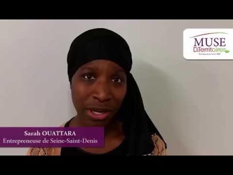 Sarah OUATTARA, entrepreneuse de Seine-Saint-Denis