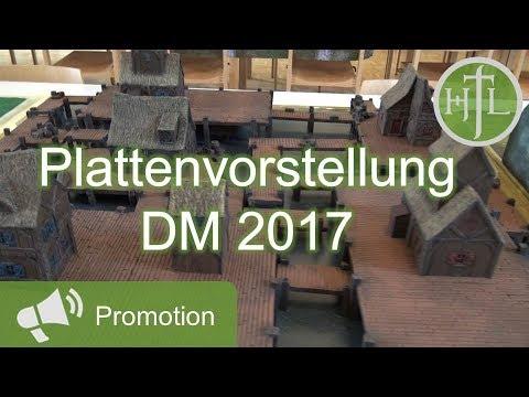 Plattenvorstellung DM 2017 (Mittelerde Tabletop / Hobbit / Herr der Ringe / HdR)