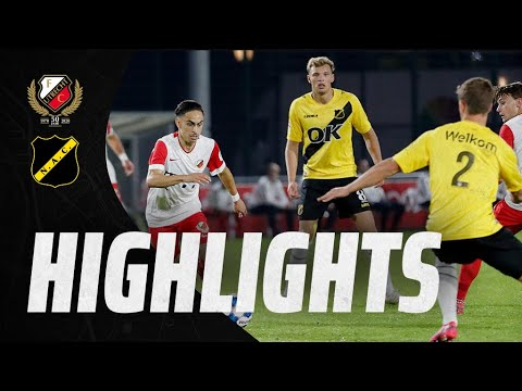 HIGHLIGHTS   Jong FC Utrecht - NAC Breda