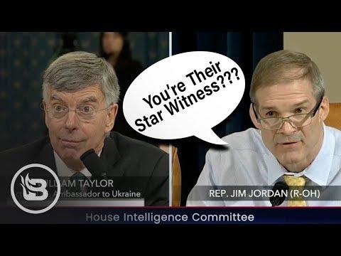 "Jim Jordan Dismantles Dems' Impeachment Narrative: ""You're Their Star Witness?!?"""