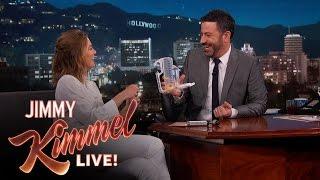 Jimmy Kimmel Tests Ellen Pompeo's Medical Knowledge