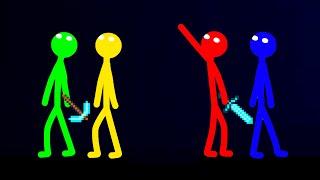 Stickman vs Minecraft  Apocalypse