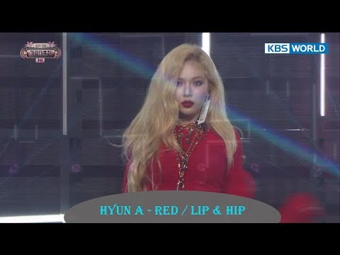 Hyun A - Red / Lip & Hip  [2017 KBS Song Festival | 2017 KBS 가요대축제 / 2017.12.29]