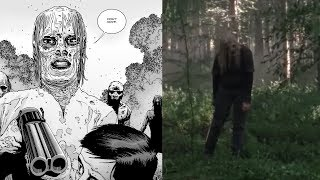 ALL WHISPERER FOOTAGE! Most ICONIC WHISPERER MOMENTS from comics! DEATH PREDICTIONS! TWD Season 9