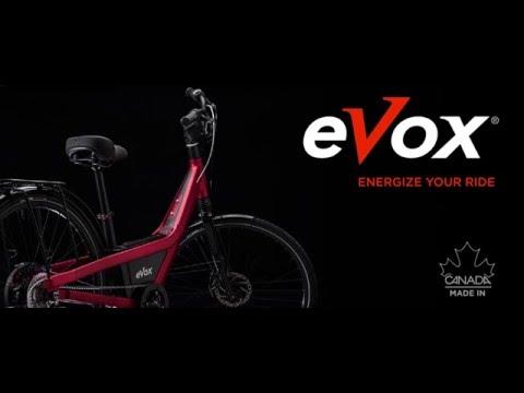 eVox electric bike Made Canada
