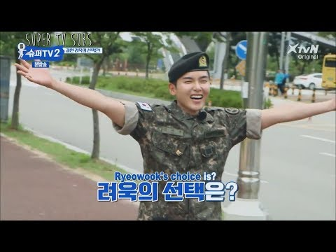 [ENG] Super TV S2 - Which member does Ryeowook hugs after his discharge?