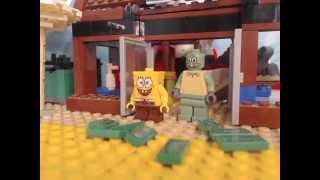 lego spongebob KRABBY LAND