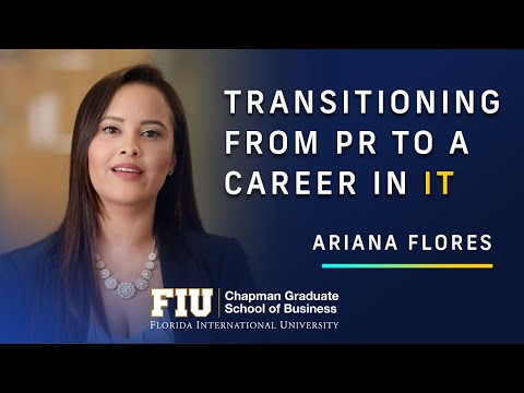 Transitioning from PR to a career in IT   | MSIS Program
